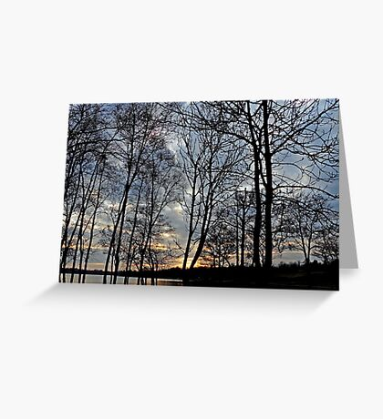 Sunset over Gulladoo Greeting Card