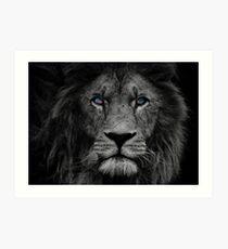 Lámina artística Hora del león!