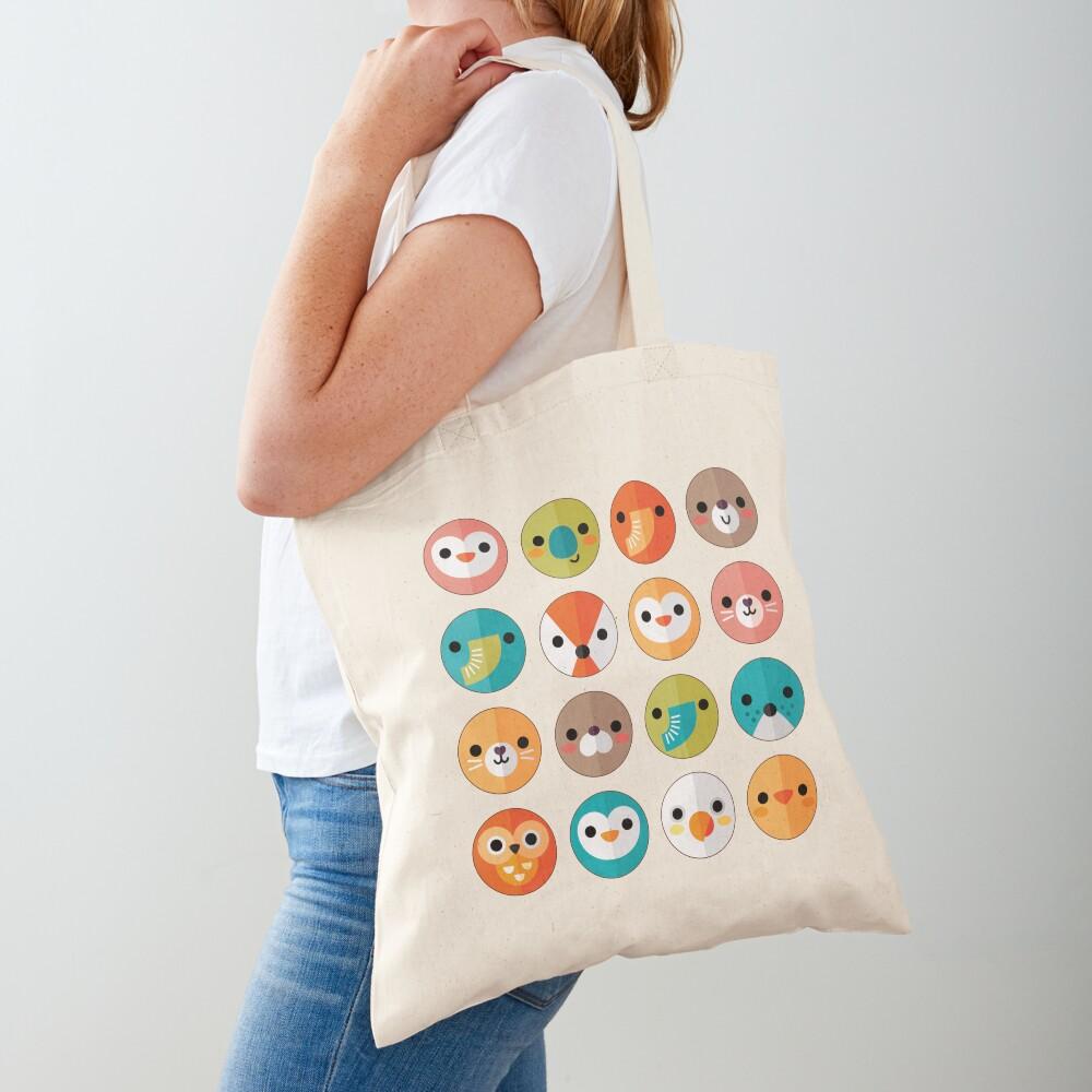 Smiley Faces Tote Bag