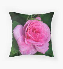 Gertrude Jekyll Rose Throw Pillow