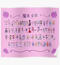 Mahou Shoujo - Magical Girls Poster