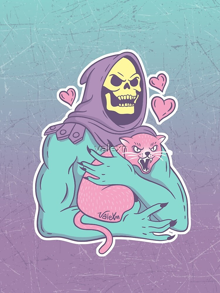 Skeletor's Cat by valexn