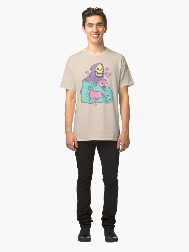 Alternate view of Skeletor's Cat Classic T-Shirt