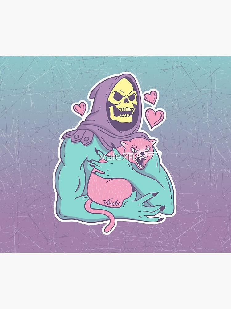 Gato de esqueleto de valexn