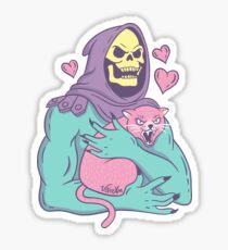 Skeletor's Cat Sticker
