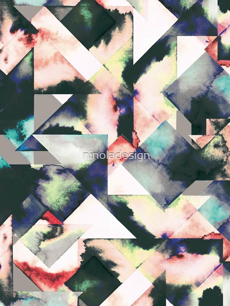 Azulejos Watercolored de ninoladesign