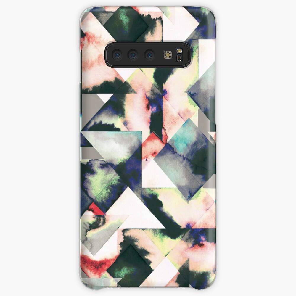 Azulejos Watercolored Funda y vinilo para Samsung Galaxy