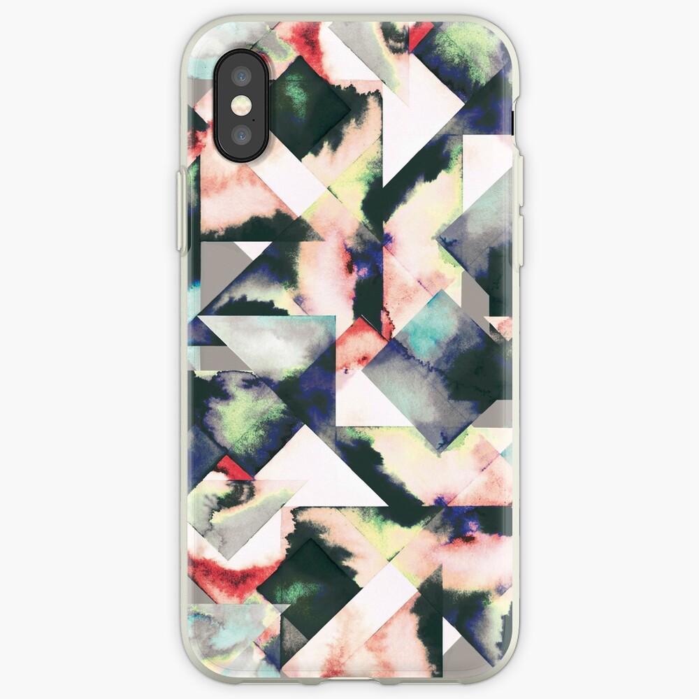 Azulejos Watercolored Funda y vinilo para iPhone