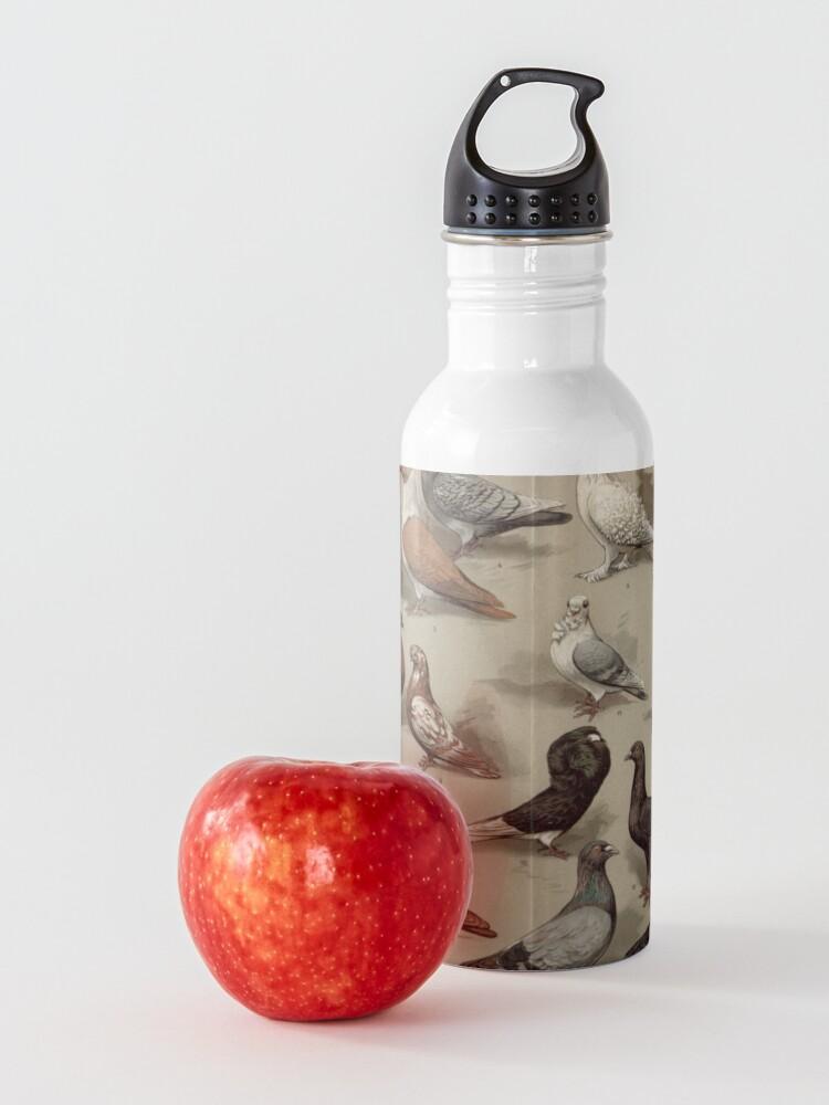 Alternative Ansicht von Taubenzucht-Diagramm Trinkflasche