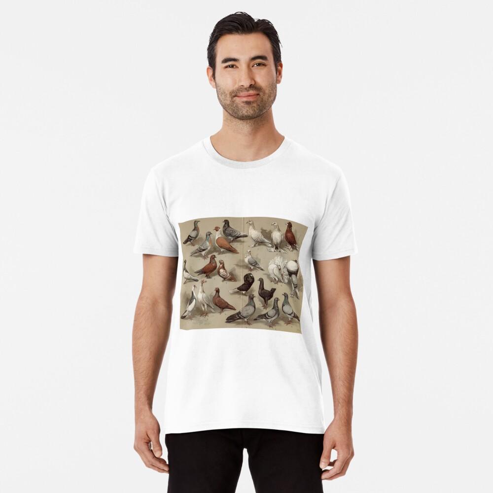 Taubenzucht-Diagramm Premium T-Shirt