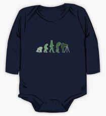 Green Photographer Evolution Kids Clothes