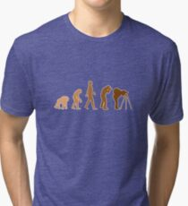 Earth Photographer Evolution Tri-blend T-Shirt