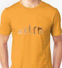 Earth Photographer Evolution Unisex T-Shirt