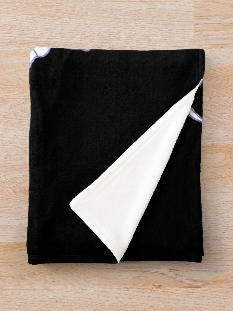 Alternate view of Merch #39 -- Crooked Smile Throw Blanket