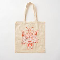 Merch #41 -- Fancy Fox Face Cotton Tote Bag