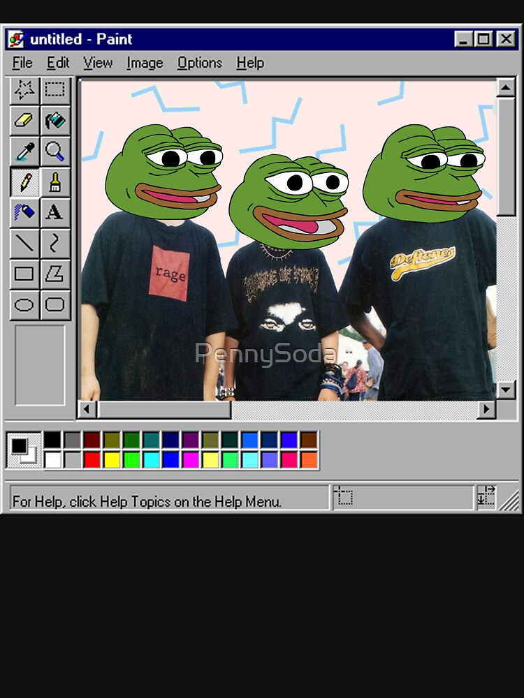 Trash Paint Esthetic Pepes de PennySoda