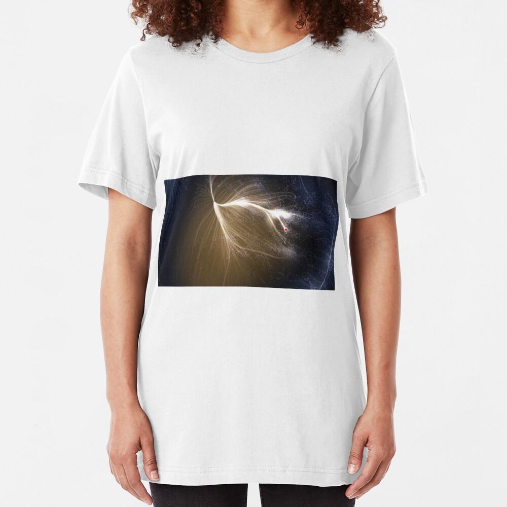 The #Laniakea #Supercluster, #Cosmology, #Astrophysics, Astronomy Slim Fit T-Shirt