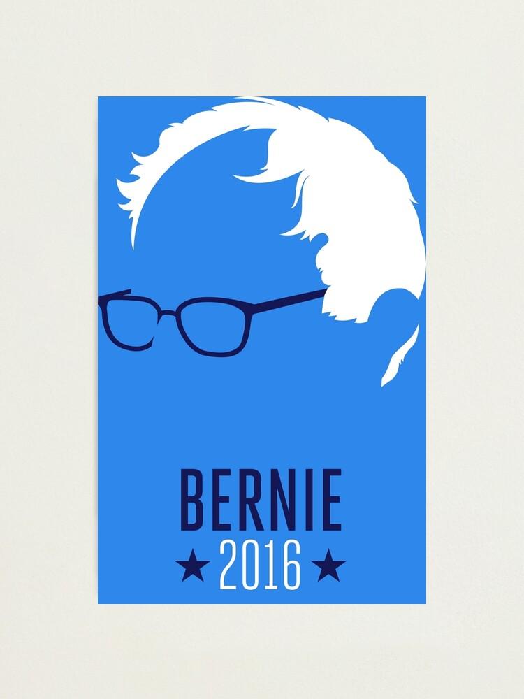 Alternate view of Bernie Sanders 2016 Photographic Print