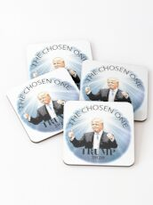 Trump 2020 The Chosen One Coasters