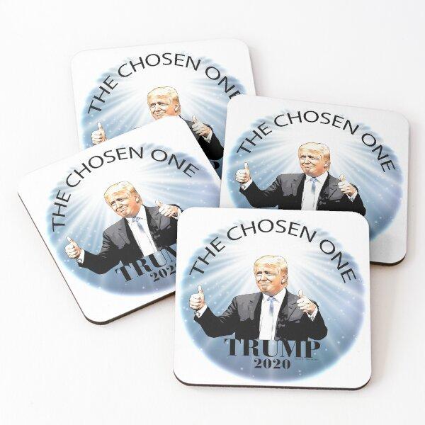 Trump 2020 The Chosen One Coasters (Set of 4)