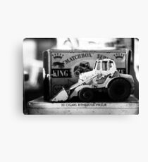 Matchbox Digger Canvas Print
