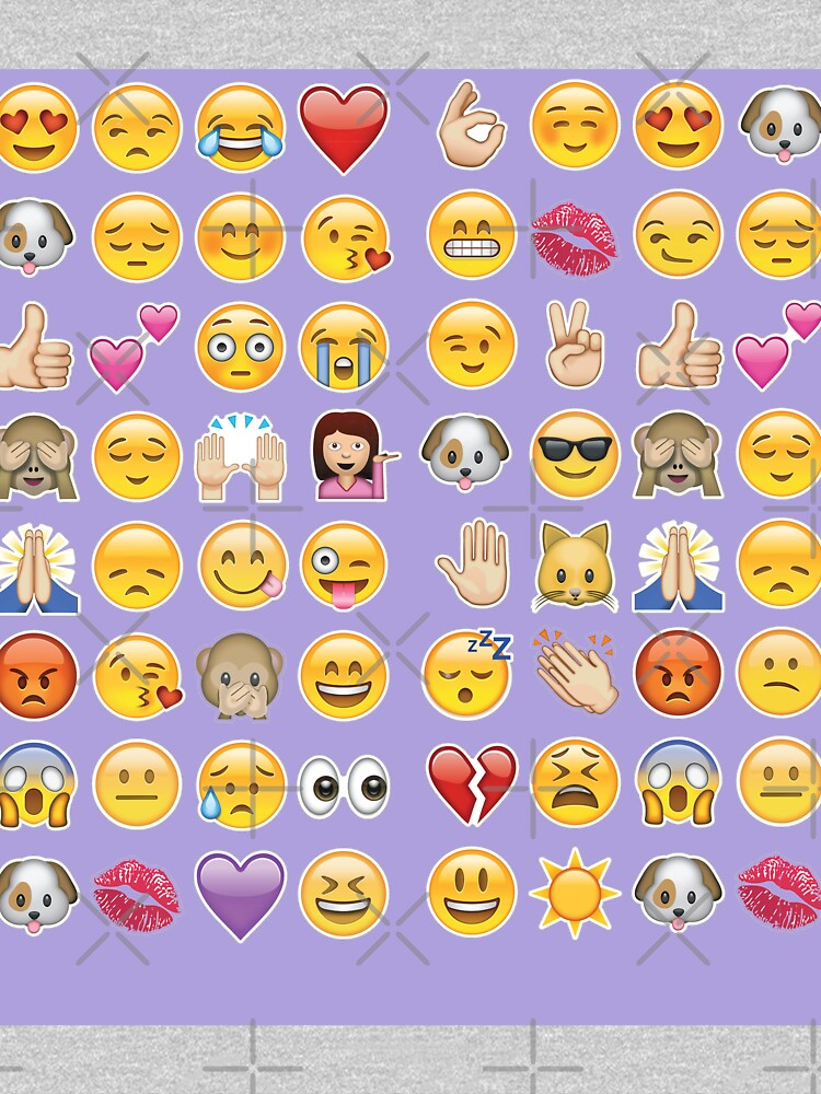 Pastell lila Emoji von gossiprag