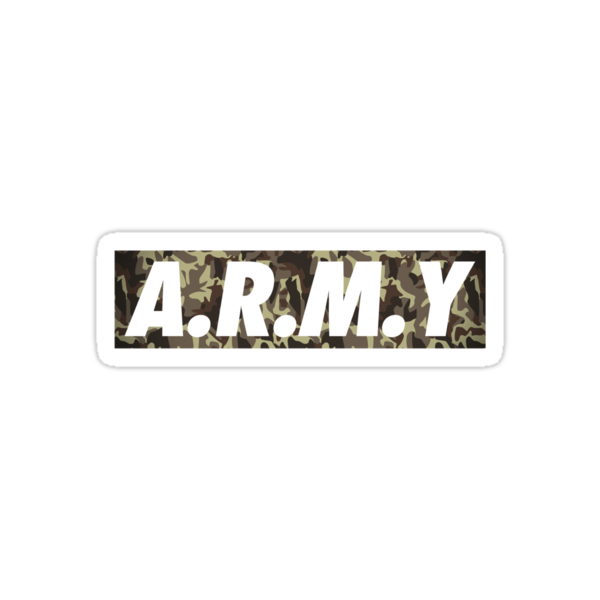 Quot Bangtan Boys Bts Fandom Army Quot Stickers By Ikpopstore