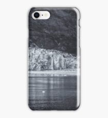 Marjory Glacier, Alaska (the 3 deck boat is there for height comparison) iPhone Case/Skin