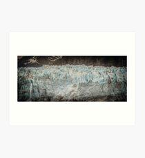 Marjory Glacier Art Print