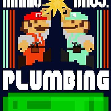Mario Bros. Plumbing  by DAVbrandz