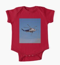 Helicopter Bush Fire Water Tanker One Piece - Short Sleeve