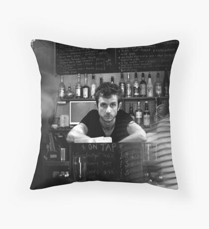 THE SAME OLD FACES Throw Pillow