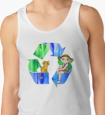 Live Like You Love the Planet Tank Top