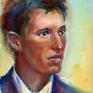 A Portrait A Day 28 - 1900s Man by Yevgenia Watts
