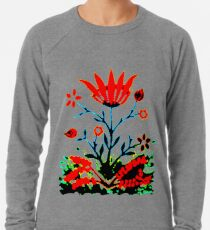 Forest Fire Flower Lightweight Sweatshirt
