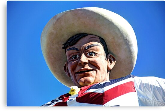 Big Tex by Clark Thompson
