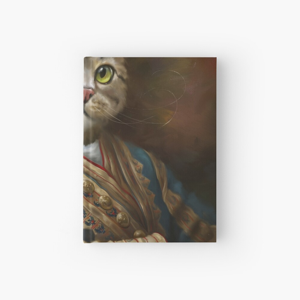 The Hermitage Court Outrunner Cat, alternative proportions Hardcover Journal