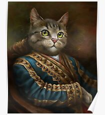 Die Hermitage Court Outrunner Cat, alternative Proportionen Poster