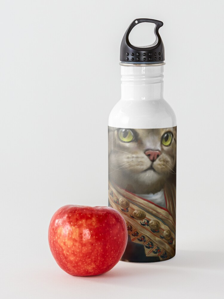 Alternate view of The Hermitage Court Outrunner Cat, alternative proportions Water Bottle