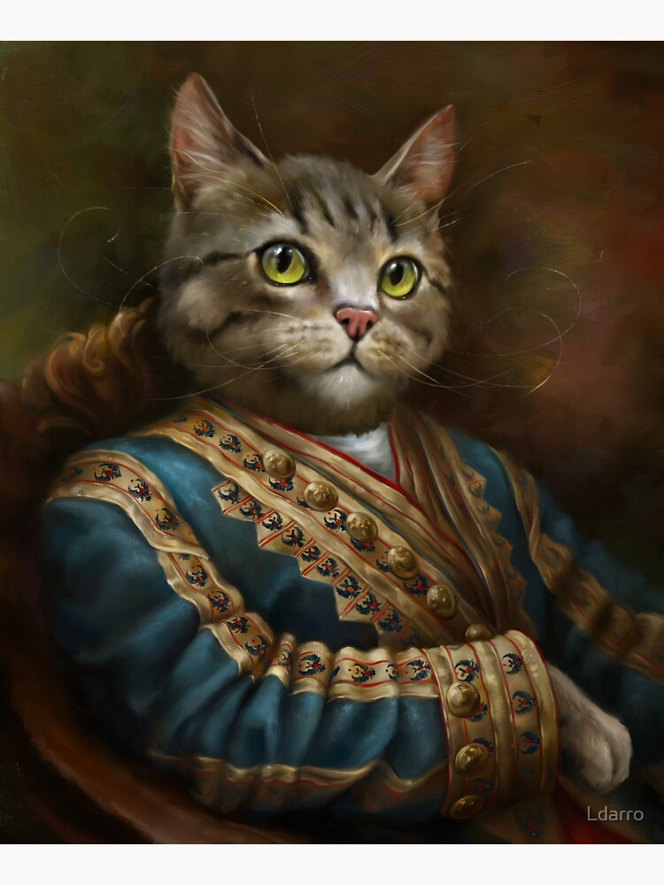 The Hermitage Court Outrunner Cat, alternative proportions by Ldarro