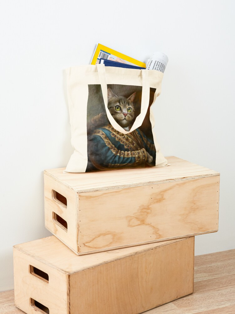 Alternate view of The Hermitage Court Outrunner Cat, alternative proportions Tote Bag