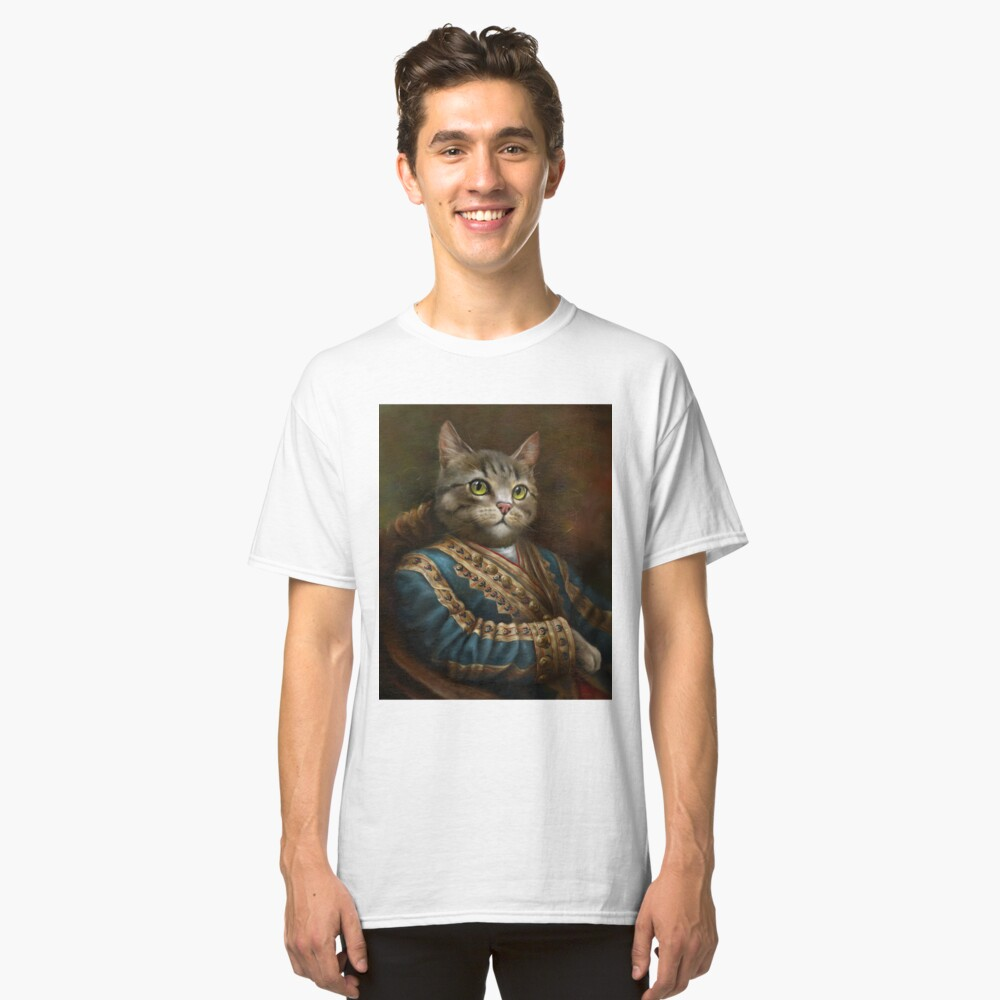 The Hermitage Court Outrunner Cat, alternative proportions Classic T-Shirt