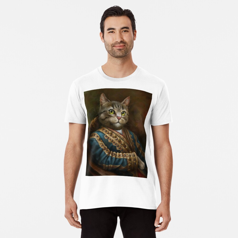 The Hermitage Court Outrunner Cat, alternative proportions Premium T-Shirt