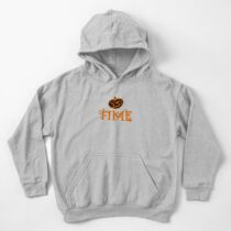 Halloween Gifts - Pumpkin Time - Fall Season  Kids Pullover Hoodie