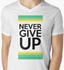 Never Give Up - JW.org Men's V-Neck T-Shirt