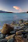 Glacial Sunset by Michael Treloar