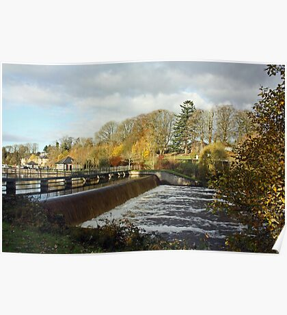 Woodford River - The Weir Poster