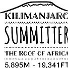 Kilimanjaro Summitter  The Roof of Africa  by Swahili101