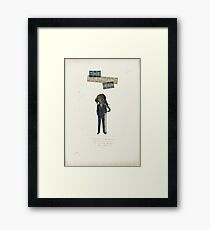Elephant man Framed Print