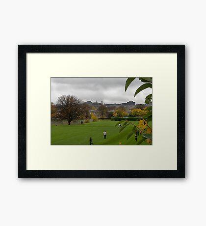 School Sports Framed Print